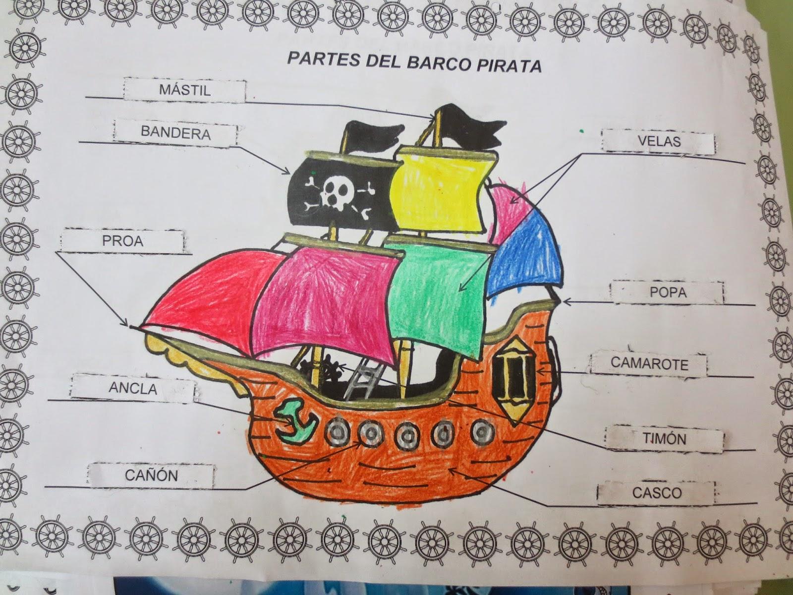 Infantil jos mar a de pereda los piratas the pirates - Imagenes de barcos infantiles ...