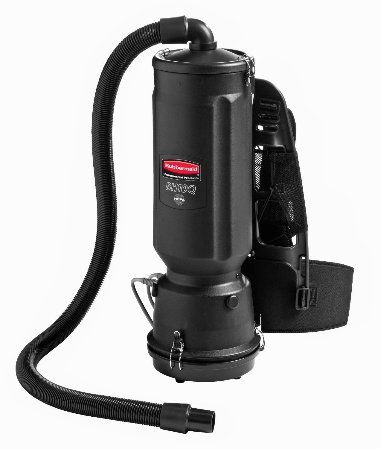 Black Rubbermaid Commercial Executive Backpack Vacuum Cleaner