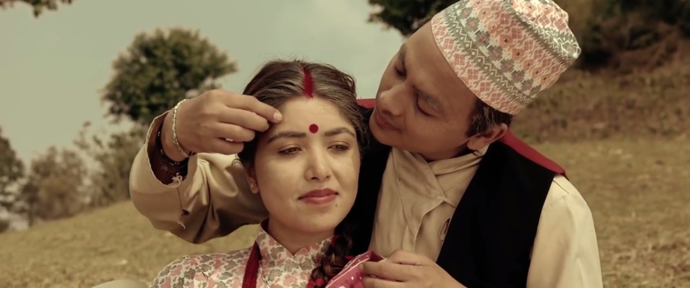 nepali movie ma yesto geet gauchu