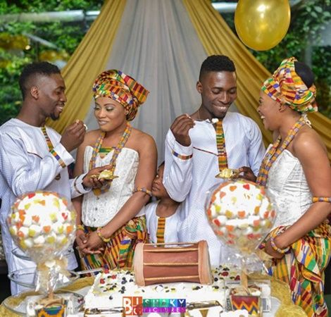Taboo Or Beautiful? Ghanaian Twins in Italy Reportedly Marry Twin Sisters (PHOTOS)