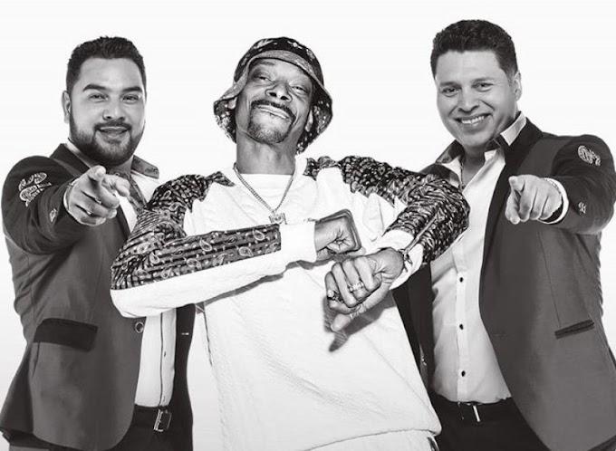 """""""Qué Maldición"""" la inesperada colaboración entre Snoop Doog y Banda MS"""