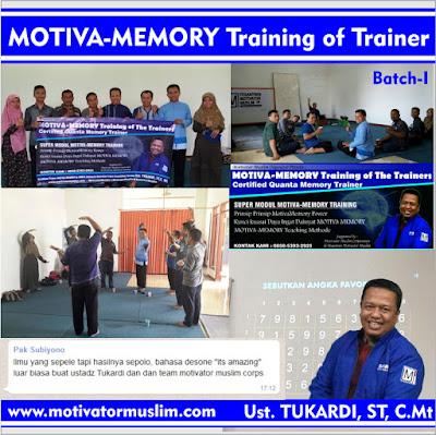 Melejitkan daya ingat otak, meningkatkan daya ingat, meningkatkan daya ingat dan konsentrasi, meningkatkan daya ingat anak, meningkatkan daya ingat dallam belajar, meningkatkan daya ingat dan konsentrasi anak, meningkatkan daya ingat anak usia dini, meningkatkan daya ingat anak balita, Pelatihan Super Memory, Pelatihan Super Great Memory, Pelatihan Quantum Learning, Quantum Learning Training Center, Pelatihan Speed Reading, Pelatihan Mind Mapping, Training for Trainer, Motivator Muslim Muda Indonesia, Pelatihan Menjadi Motivator