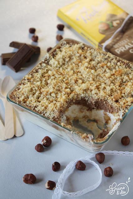 Tiramisu bicolore à la Pralinoise Degusta Box Octobre 2018 Recette Dessert