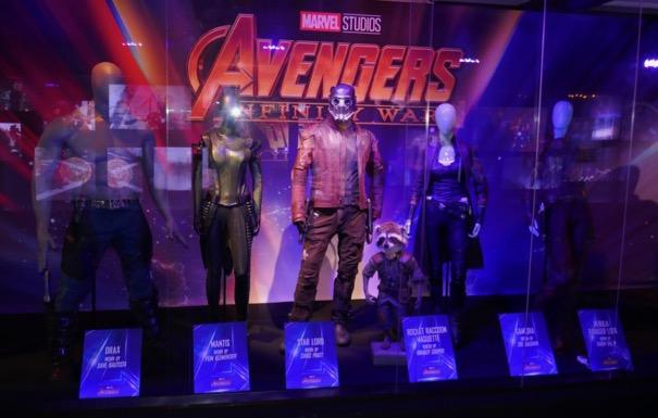 Avengers Infinity War Guardians Galaxy costumes