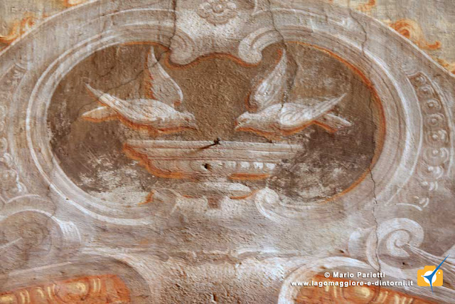 Affreschi nella chiesa dedicata a san Gemolo presso la badia di Ganna