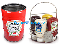 Logo ''Griglia mon amour'': vinci 65 portasalse e 50 Barrel Grill Heinz