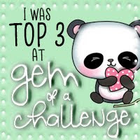 Top 3 at Gem of a challenge blog