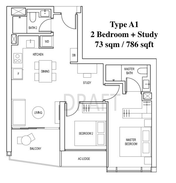 Artra @ Alexandra Floor Plan