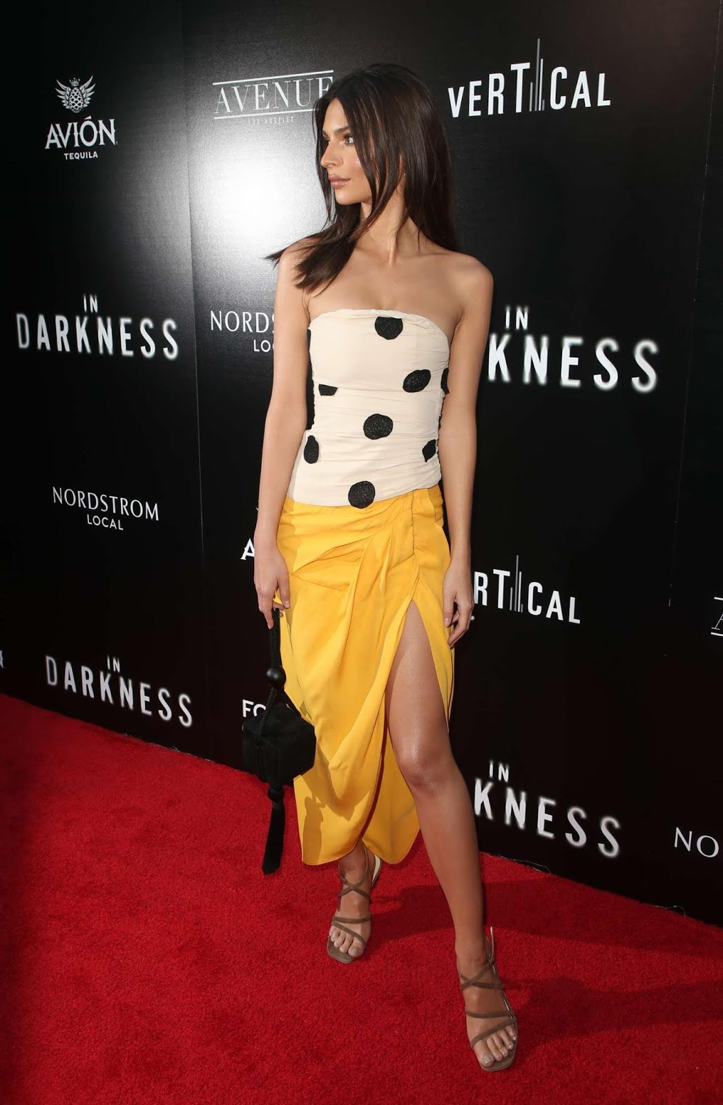 Emily Ratajkowski – 'In Darkness' Premiere in Los Angeles