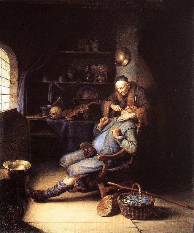 Art Now And Then Gerrit Dou