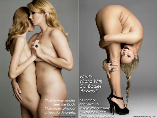 Will plus size models nude pics