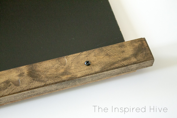 How to make your own industrial farmhouse style chalkboard.