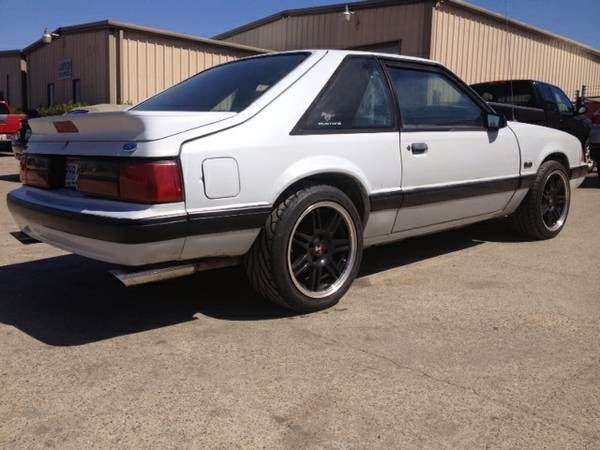 Whiteboy's Mustangs: 1989 Mustang lx 5 0 auto