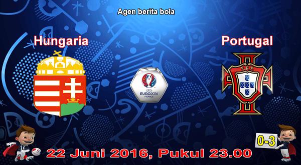 prediksi bola hungaria vs portugal euro 2016