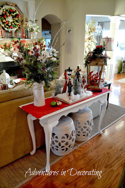 Adventures In Decorating Our Fall Kitchen: Adventures In Decorating: Our Christmas Great Room And