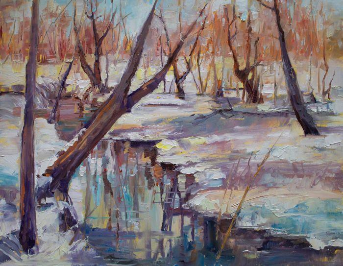 Американский художник. Marty Husted