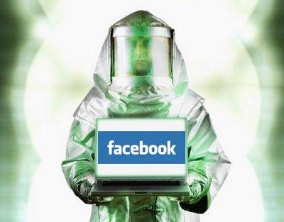 como parar de espalhar virus no facebook