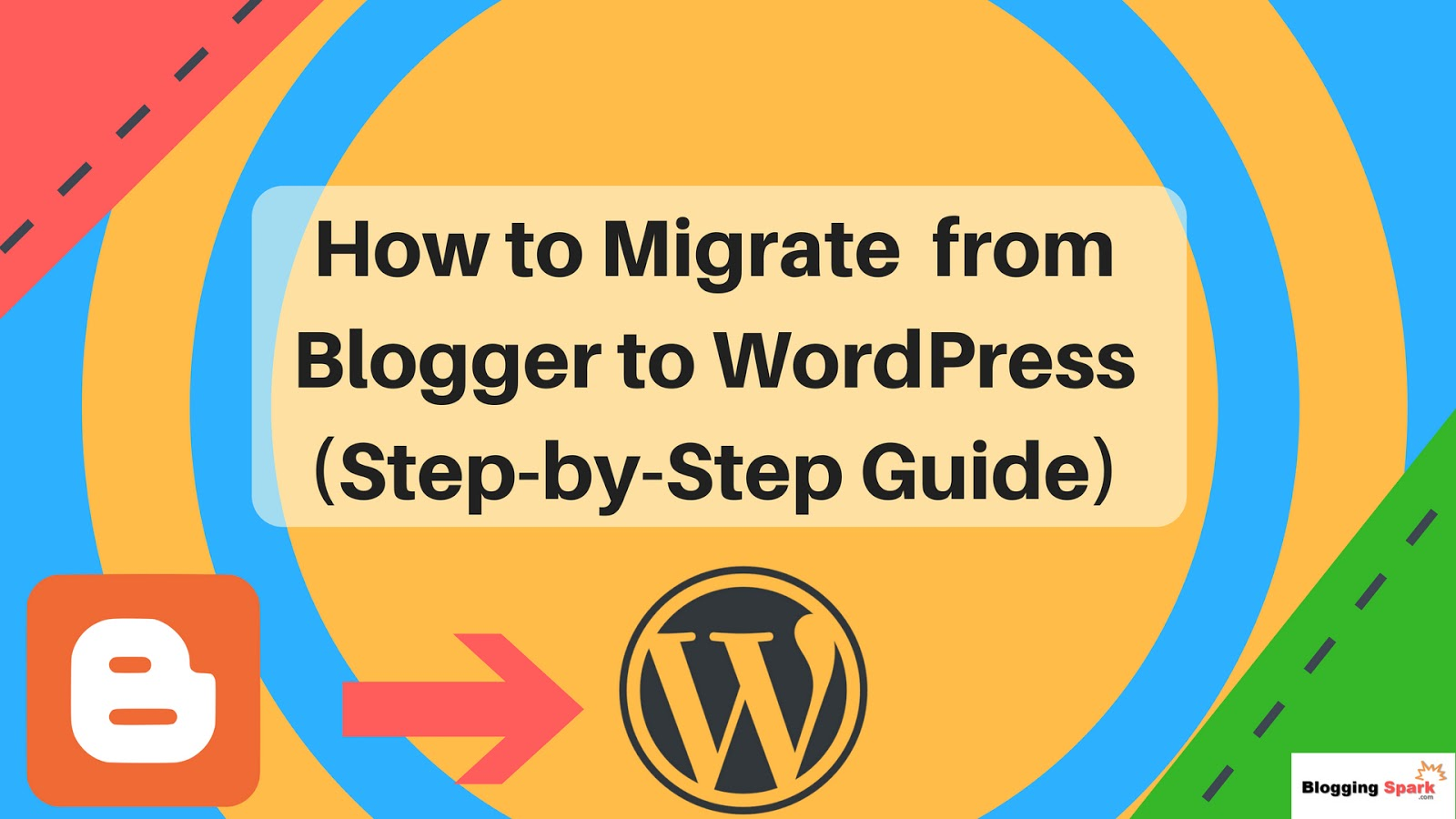 how to migrate from blogger o wordpress, switch from blogger to wordpress guide