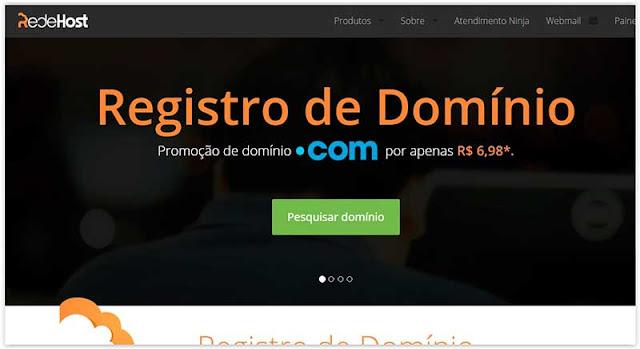 redehost Registrar Dominio