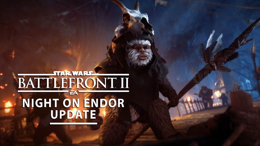 star wars battlefront 2 ewok hunt mode