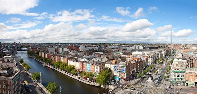 Pontos turísticos em Dublin, Irlanda