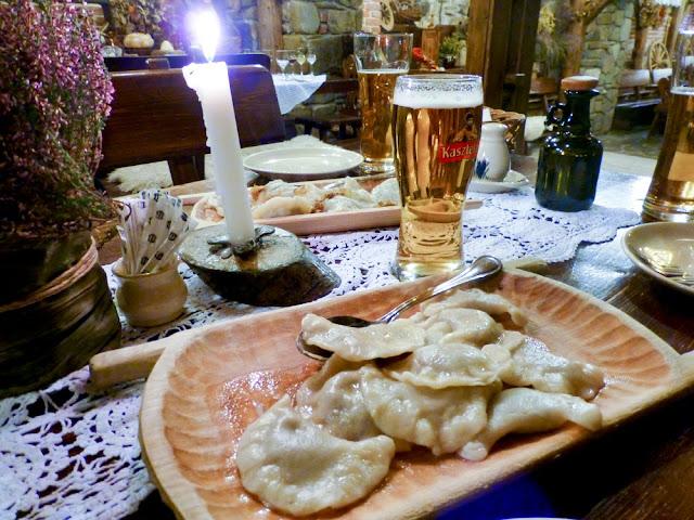 Pierogi del Restaurante Morskie Oko