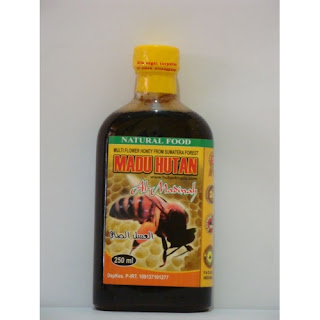 Madu Hutan Tropis Madinah Herbal  uk 250 ml