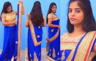 Saree Draping bengoli style |How To Wear Saree Perfectly Step By Step|Draping In Party Wear Style