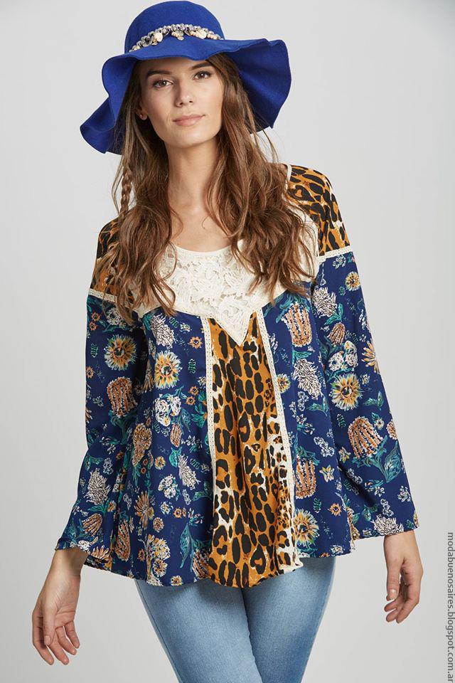 Blusas invierno 2016 moda mujer Doll Store.