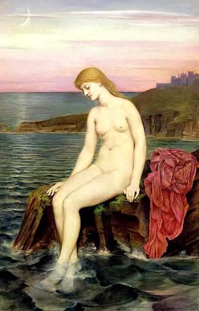 Evelyn De Morgan: La piccola fanciulla di mare
