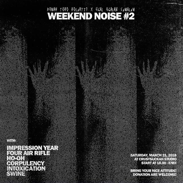 Weekend Noises 2 impression year mini tour indonesia 2018