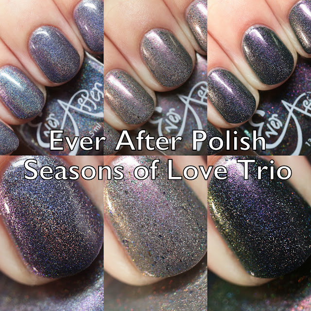 Ever After Polish Seasons of Love Trio Swatches