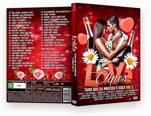 CAPA DVD – Love Clipes Tudo Que Eu Preciso É Voce VOL.2 – ISO