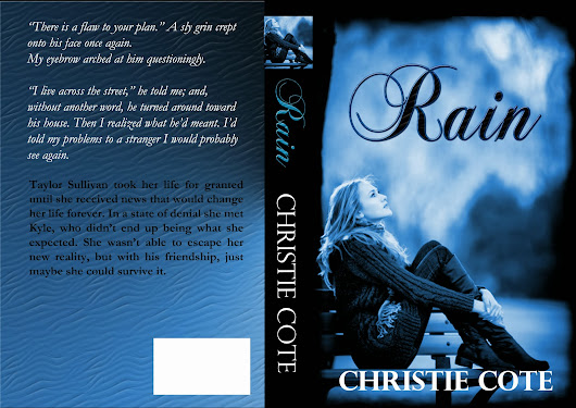 I KNOW AN AWESOME AUTHOR!: Rain Cover Reveal