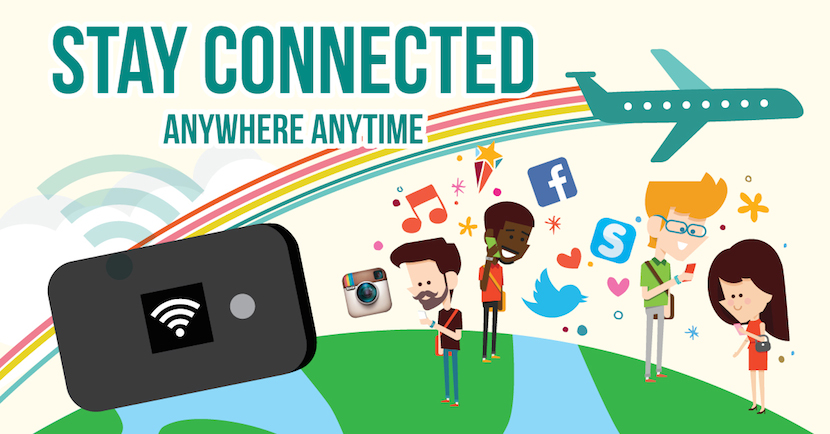 Travel Recommends Pocket Wifi | STAY CONNECTED ANYTIME