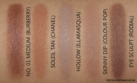 Burberry Face Contour Pen 01 Medium Swatch Soleil Tan Chanel Hollow Illamasqua Skinny Dip Colour Pop