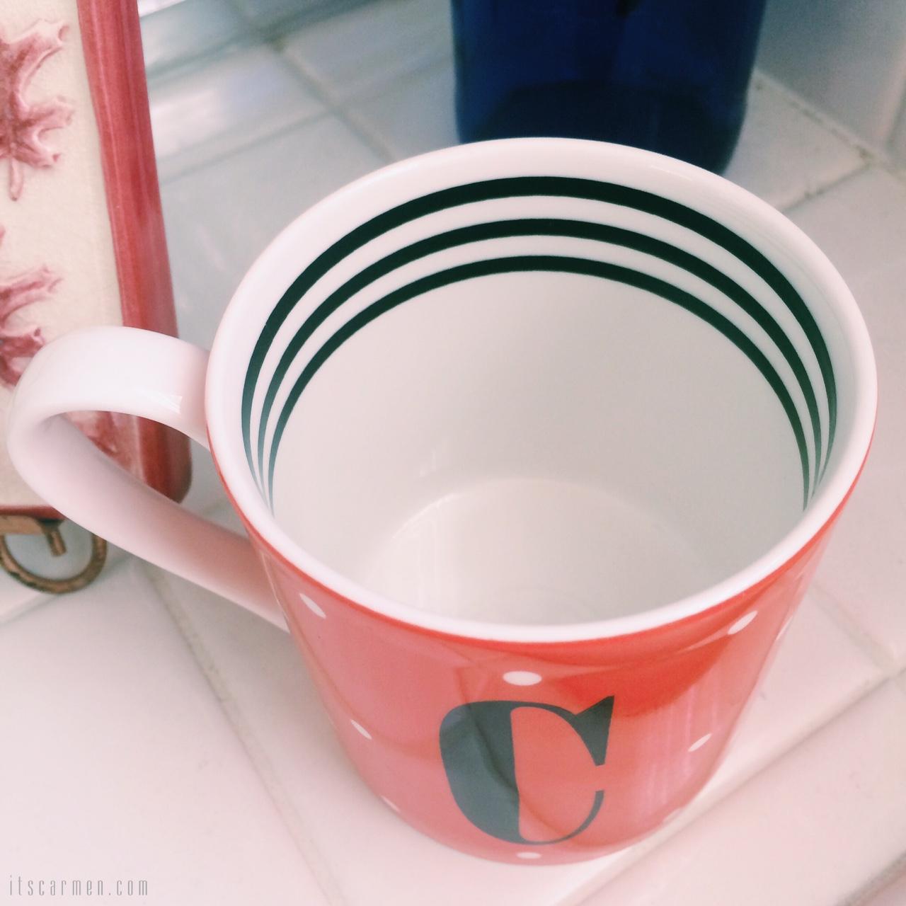 kate spade mug