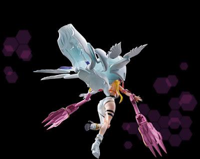 Tamashii Nations nos muestra hoy las primeras imágenes y detalles de su próxima figura de la linea Digivolving Spirits, la ansiada Angewomon / Tailmon (aka Gatomon).