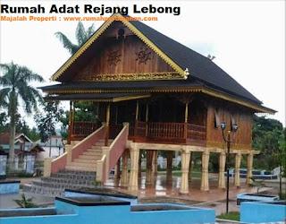 Desain Bentuk Rumah Adat Rejang Lebong dan Penjelasannya, Rumah Adat Bengkulu