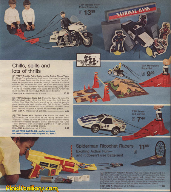 Car Lots In Kenner >> Plaid Stallions : Rambling and Reflections on '70s pop culture: Chills, Spills and lots of Thrills