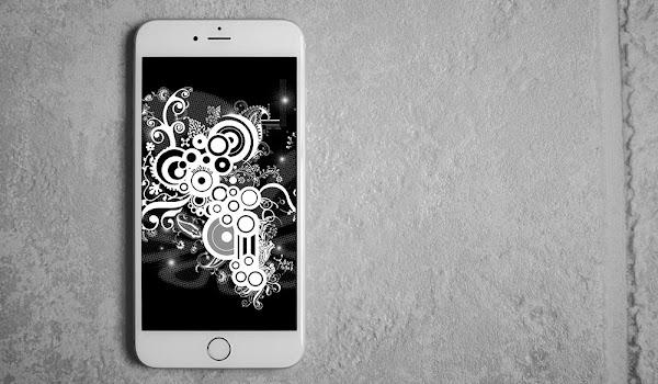HD Çözünürlükte Siyah iPhone Duvar Kağıtları
