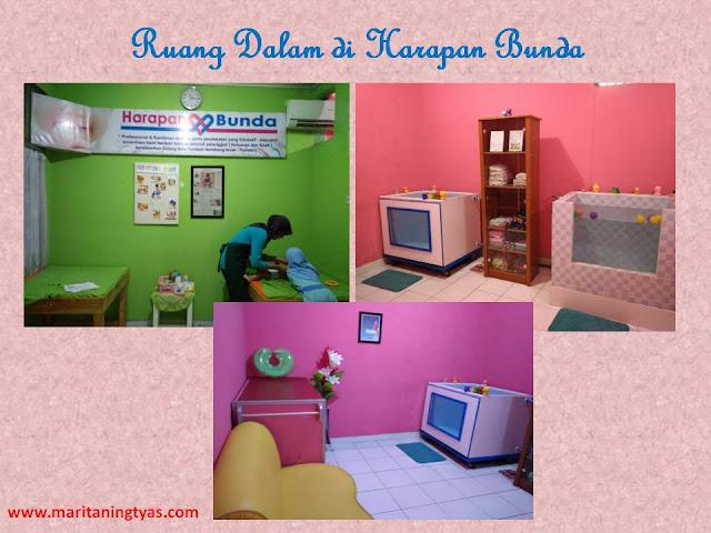 Ruang Dalam di Harapan Bunda Massage Baby Center Semarang