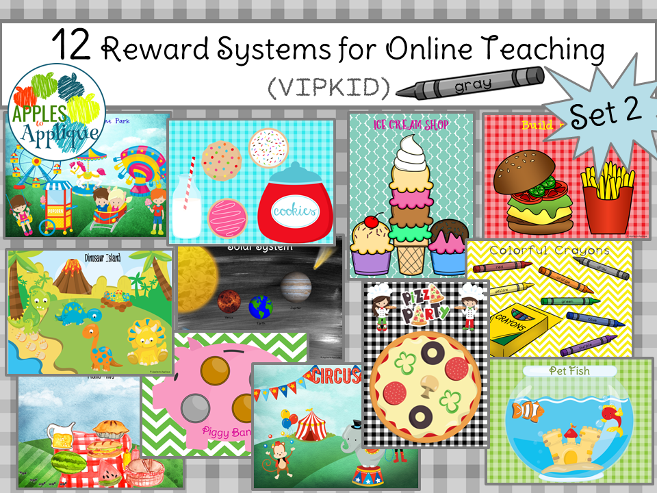 photo regarding Vipkid Printable Props known as Apples toward Applique: Favourite Props and Benefit Programs for