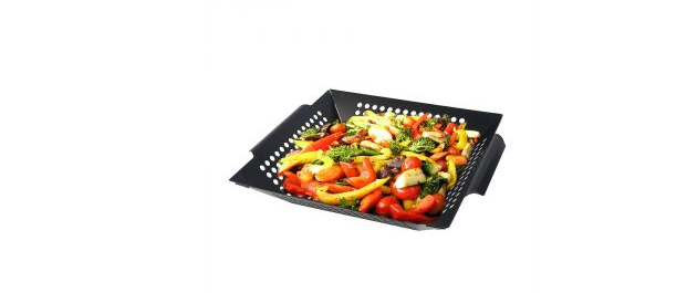 Monsoon Arctic Stainless Steel Non-Stick Grilling Basket
