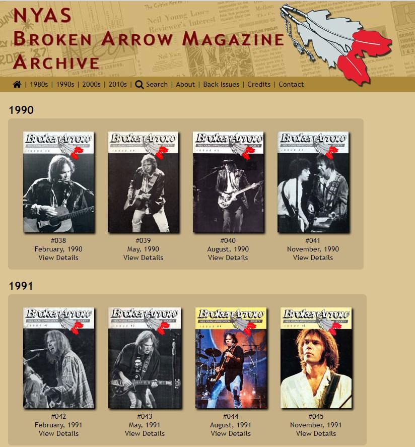 Neil Young Fan-Archiv mit 8.000 Seiten online