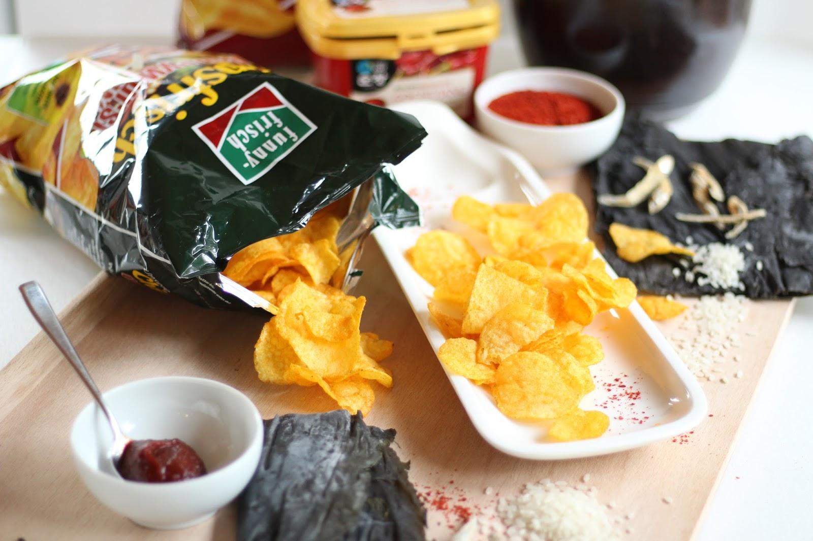 Auf geht's zur funny-frisch Chips-Wahl 2018: Meine neue Sorte: Korean-Tteokbokki-Chips!