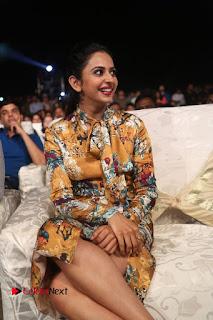 Actress Rakul Preet Singh Stills in Short Dress at Dhruva Pre Release Function  0094.JPG