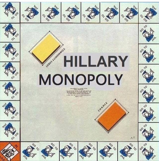 90 Miles From Tyranny : Hillary Monopoly -- The Game