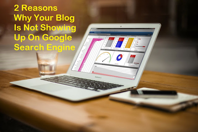 2 Reasons Why Your Blog Is Not Showing Up On Google Search Engine