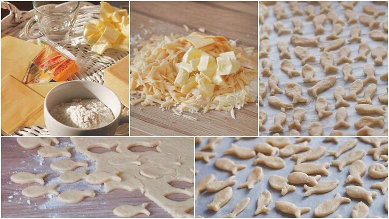 przepis na ciastka serowe